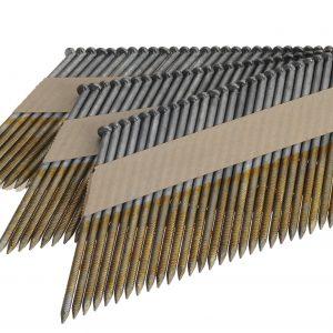 Stripnagels 2.8x50mm Ring Gegalvaniseerd 34° D-kop Doos 3000 stuks
