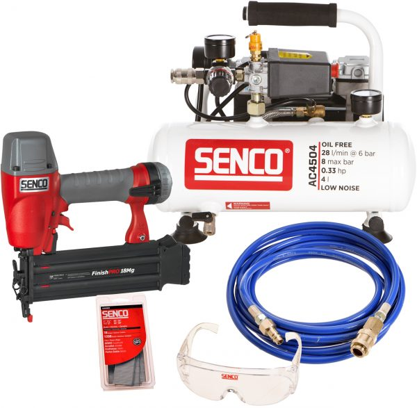SENCO Starterskit AC4504Finishpro18MG