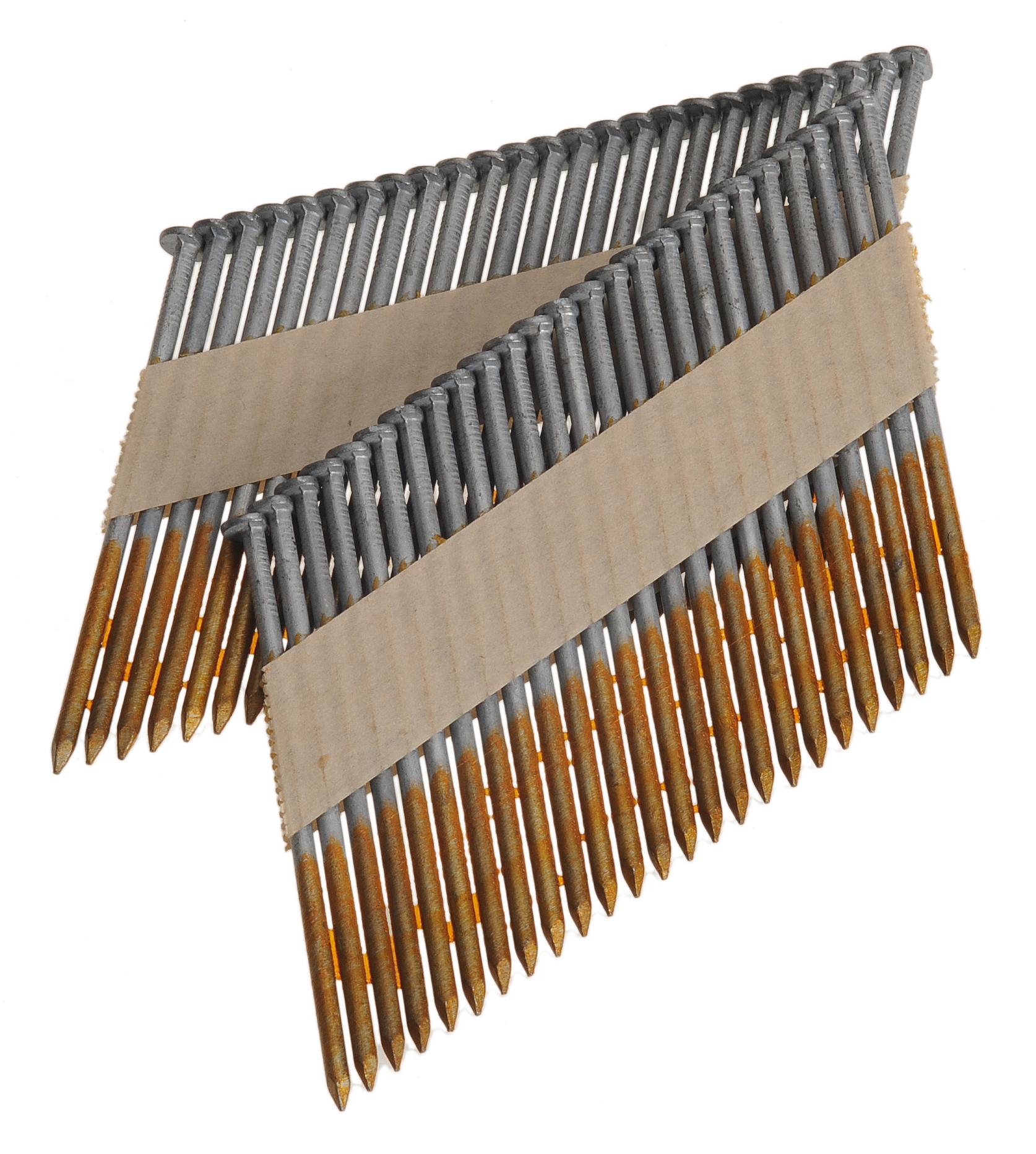 Stripnagels 3.1x70mm Glad blank 34° D-kop Doos 2000 stuks