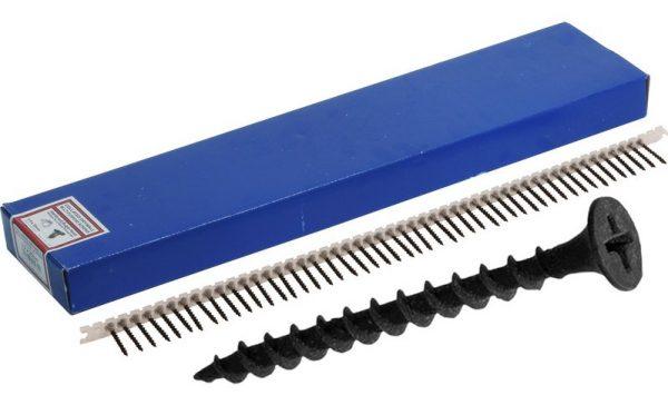 Schroeven zwart gefosfateerd voor gips op hout 3.5x40mm