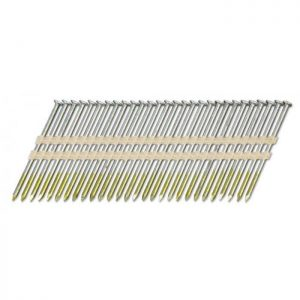 Stripnagels rondkop 3,1x90mm Barbed Sencote 21° 2000 stuks