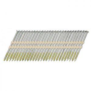 Stripnagels rondkop 3,1x90mm blank Sencote 21° 2000 stuks