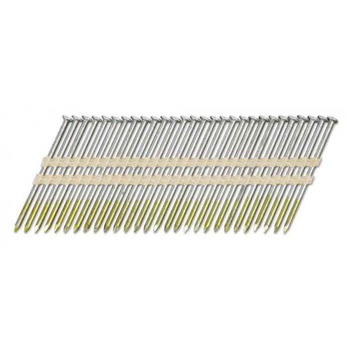 Stripnagels rondkop 2,9x65mm blank Sencote 21°