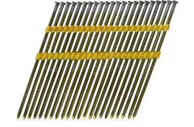 Stripnagels rondkop 3,8x130mm blank Sencote 21° 1400 stuks