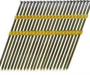 Stripnagels rondkop 3,8x110mm blank Sencote 21° 1400 stuks