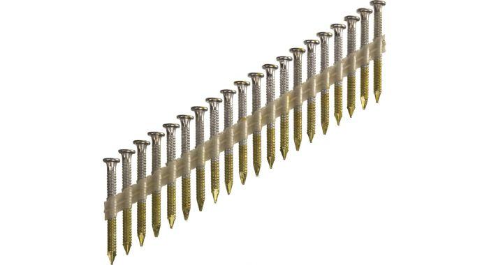 Anker-Ringnagel 3,8 X 38 mm Gegalvaniseerd Sencote 34°