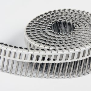 Rolnagels RVS 2.1x35mm(1200st) plastic gebonden